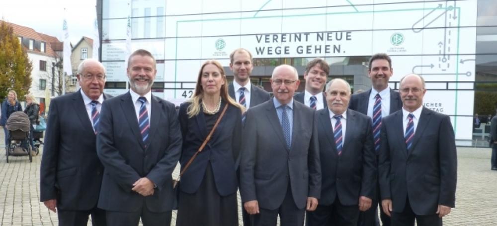Die südbadische Delegation in Erfurt.