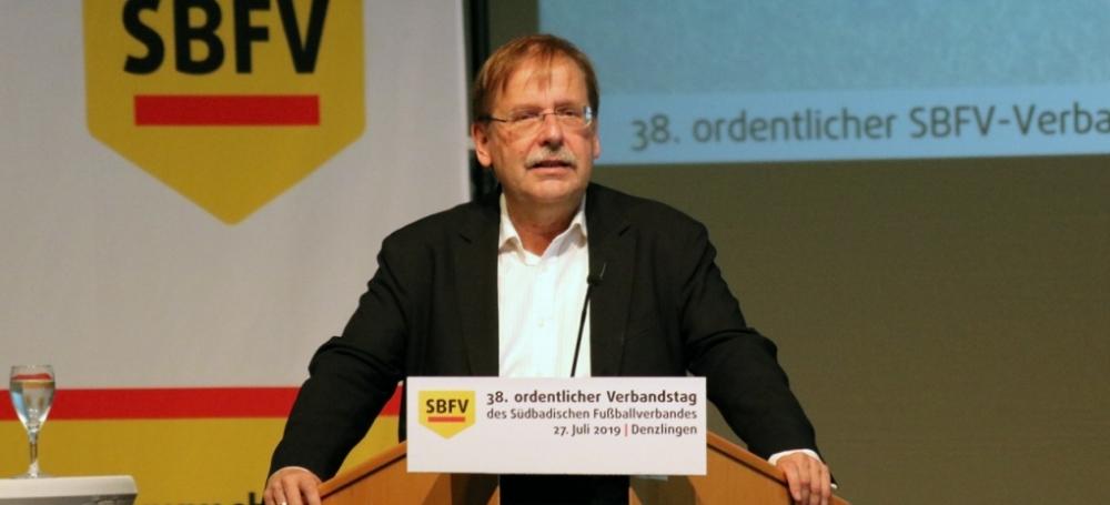 DFB-Interimspräsident Dr. Rainer Koch