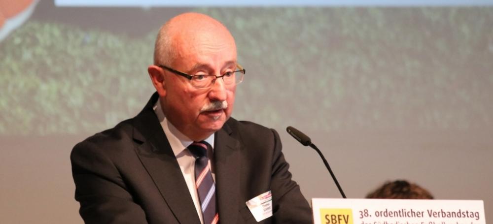 SBFV-Präsident Thomas Schmidt